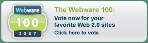 Vota por las mejores aplicaciones web
